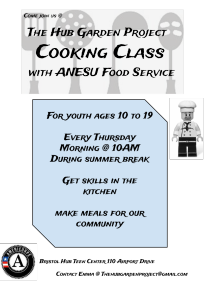 Cooking Class Poster